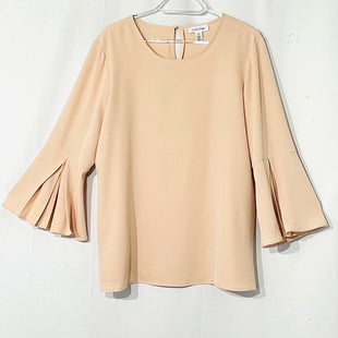 Primary Photo - BRAND: CALVIN KLEIN STYLE: TOP LONG SLEEVE COLOR: LIGHT PINK SIZE: L SKU: 262-26275-66123