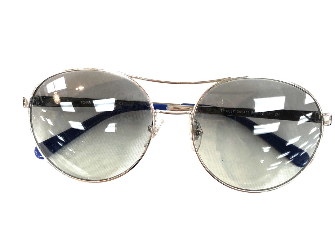 Primary Photo - BRAND: TORY BURCH <BR>STYLE: SUNGLASSES <BR>COLOR: BLUE <BR>SKU: 262-26211-121234<BR>AS IS