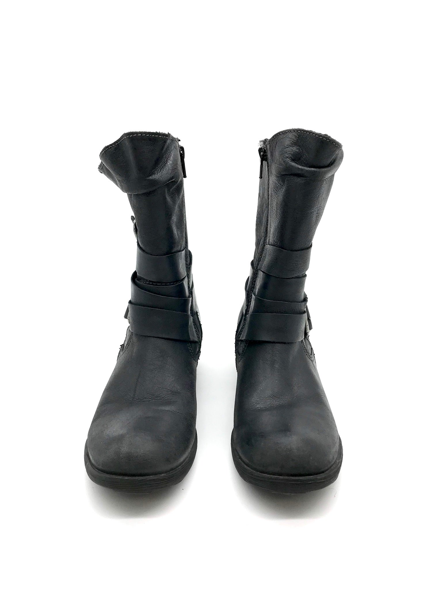 Photo #1 - BRAND: BOC <BR>STYLE: BOOTS ANKLE <BR>COLOR: BLACK <BR>SIZE: 7 <BR>SKU: 262-26275-69243<BR>AS IS