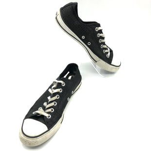 Primary Photo - BRAND: CONVERSE STYLE: SHOES ATHLETIC COLOR: BLACK WHITE SIZE: 9 OTHER INFO: AS IS SLIGHT WEAR SOLE LACES SKU: 262-26241-45403