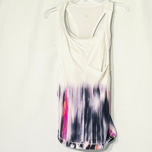 Primary Photo - BRAND: LULULEMON STYLE: ATHLETIC TANK TOP COLOR: WHITE PINK SIZE: 6 SKU: 262-26241-46145DESIGNER FINAL