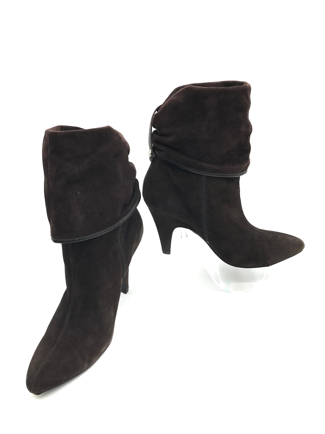 Primary Photo - BRAND: VIA SPIGA <BR>STYLE: BOOTS ANKLE <BR>COLOR: BROWN <BR>SIZE: 8.5 <BR>SKU: 262-26275-71064<BR><BR>COUPLE SLIGHT MARKS