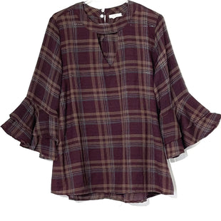 Primary Photo - BRAND: JODIFL STYLE: TOP LONG SLEEVE COLOR: PLAID SIZE: M SKU: 262-26275-75770