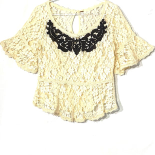 Primary Photo - BRAND: FREE PEOPLE STYLE: TOP SHORT SLEEVE COLOR: BEIGE SIZE: XS SKU: 262-26275-76344