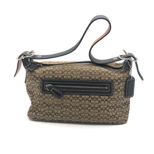 "Primary Photo - BRAND: COACH O STYLE: HANDBAG DESIGNER COLOR: MONOGRAM SIZE: SMALL SKU: 262-26275-74101AS IS DESIGNER BRAND FINAL SALE APPROX 9""X5""X4"""