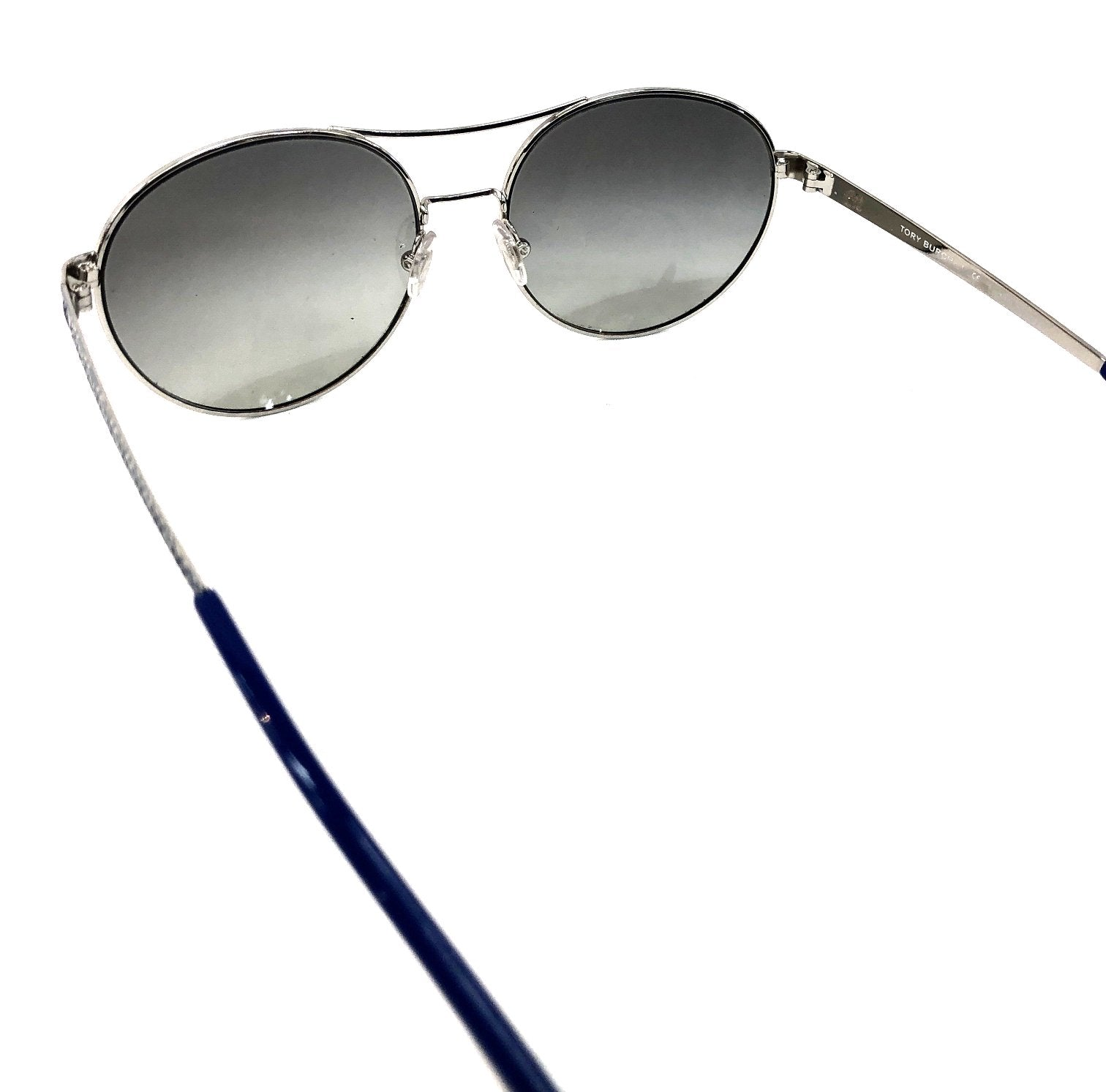 Photo #2 - BRAND: TORY BURCH <BR>STYLE: SUNGLASSES <BR>COLOR: BLUE <BR>SKU: 262-26211-121234<BR>AS IS