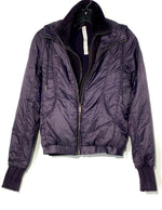 Primary Photo - BRAND: LULULEMON <BR>STYLE: ATHLETIC JACKET <BR>COLOR: EGGPLANT<BR>SIZE: 2 <BR>OTHER INFO: AS IS SLIGHTEST SPOTS ON THE BACK (SEE PHOTO)<BR>SKU: 262-26275-68206<BR>DESIGNER FINAL <BR>REMOVEABLE FLEECE COLLAR