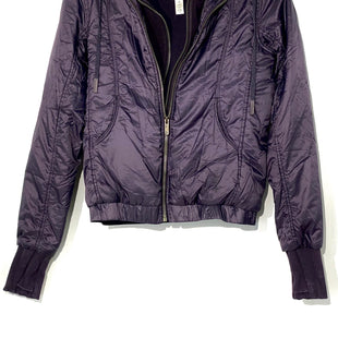Primary Photo - BRAND: LULULEMON STYLE: ATHLETIC JACKET COLOR: EGGPLANTSIZE: 2 OTHER INFO: AS IS SLIGHTEST SPOTS ON THE BACK (SEE PHOTO)SKU: 262-26275-68206DESIGNER FINAL REMOVEABLE FLEECE COLLAR