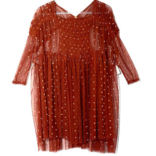 Primary Photo - BRAND: FREE PEOPLE STYLE: TOP SHORT SLEEVE COLOR: POLKADOT SIZE: S SKU: 262-26275-76812