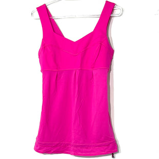 Primary Photo - BRAND: LULULEMON STYLE: ATHLETIC TANK TOP COLOR: HOT PINK SIZE: 6 SKU: 262-26275-77032DESIGNER FINAL