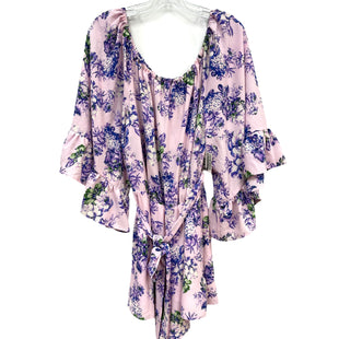 Primary Photo - BRAND: WAYF STYLE: ROMPER DRESS SHORT LONG SLEEVE COLOR: FLORAL SIZE: L SKU: 262-26211-145458