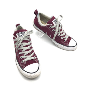 Primary Photo - BRAND: CONVERSE STYLE: SHOES ATHLETIC COLOR: MAROON SIZE: 9 SKU: 262-26275-75637GENTLE WEAR - AS IS
