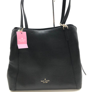 "Primary Photo - BRAND: KATE SPADE STYLE: HANDBAG DESIGNER COLOR: BLACK SIZE: MEDIUM SKU: 262-26241-44773APPROX. 12.25""L X 11""H X 4""D"