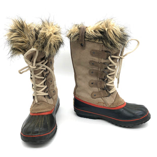 Primary Photo - BRAND: SOREL STYLE: BOOTS ANKLE COLOR: TAN SIZE: 6 AS IS WEAR SHOWSSKU: 262-26275-75587DESIGNER BRAND FINAL SALE