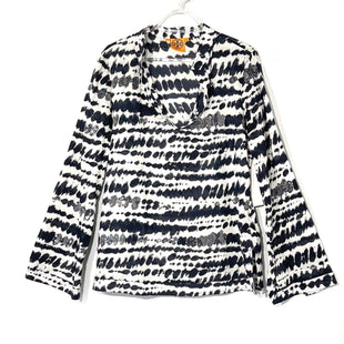 Primary Photo - BRAND: TORY BURCH STYLE: TOP LONG SLEEVE BLOUSE COLOR: BLACK WHITE SIZE: M /10SKU: 262-26275-74183DESIGNER FINAL