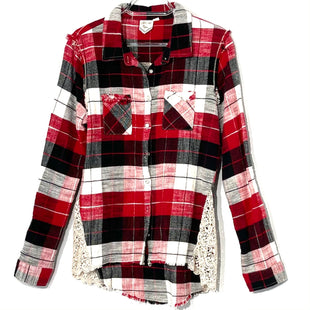 Primary Photo - BRAND: WHITE CROW STYLE: TOP LONG SLEEVE COLOR: PLAID SIZE: L SKU: 262-26275-75776