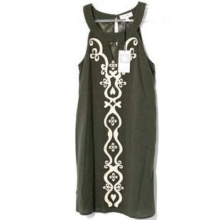 Primary Photo - BRAND: THML STYLE: DRESS SHORT SLEEVELESS COLOR: OLIVE SIZE: S SKU: 262-26275-77323