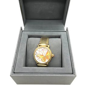 Primary Photo - BRAND: MICHELE STYLE: LIMITED EDITION BUTTERFLY WATCH - GARDEN PARTY COLLECTION COLOR: BUTTERFLIES SKU: 262-26275-69361WEAR SHOWS ON THE STRAPS BATTERY NEEDED - AS IS.