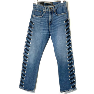 "Primary Photo - BRAND:  VERONICA BEARD JEANSSTYLE: JEANS COLOR: DENIM SIZE: 2/24OTHER INFO: VERONICA BEARD - SKU: 262-262101-289510.75"" GIRLFRIEND"
