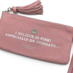 Primary Photo - BRAND:  MY FLAT IN LONDONSTYLE: WRISTLET COLOR: LIGHT PINK SKU: 262-26275-65576AS IS