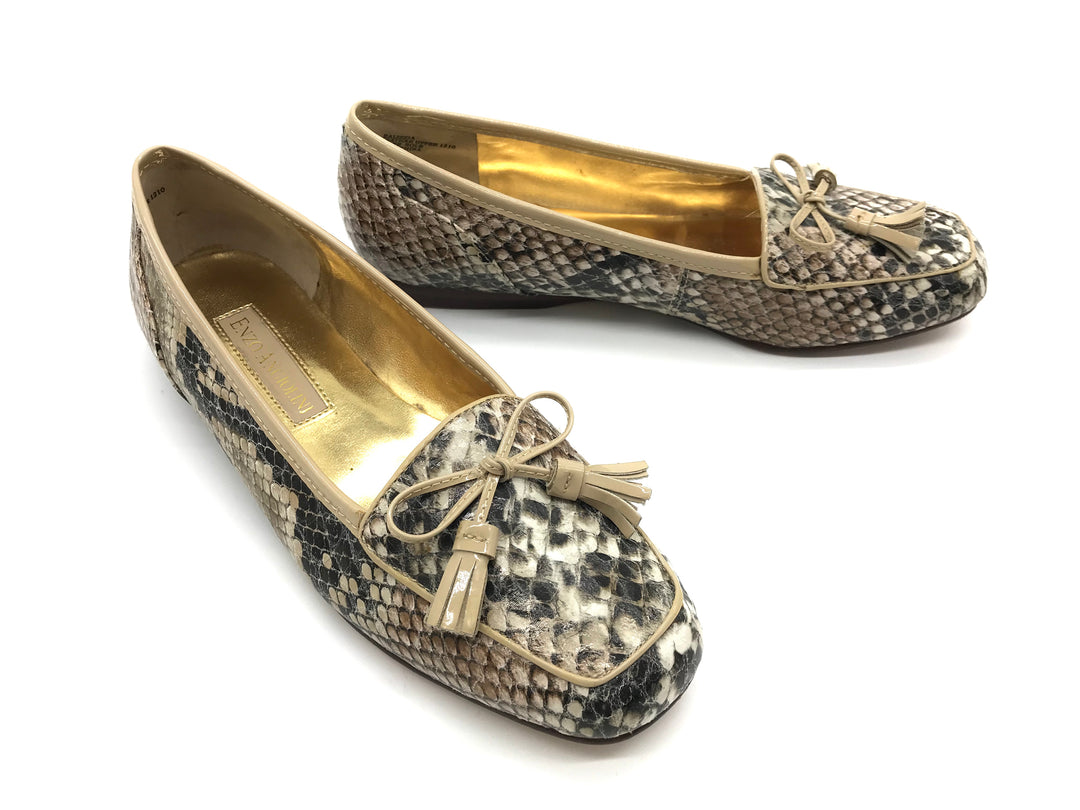 Photo #2 - BRAND: ENZO ANGIOLINI <BR>STYLE: SHOES FLATS <BR>COLOR: SNAKESKIN PRINT <BR>SIZE: 6 <BR>SKU: 262-26275-64519<BR>IN GOOD CONDITION - AS IS