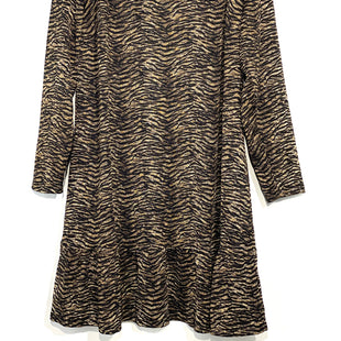 Primary Photo - BRAND: MICHAEL BY MICHAEL KORS STYLE: DRESS SHORT LONG SLEEVE COLOR: ANIMAL PRINT SIZE: 2X SKU: 262-262101-1637