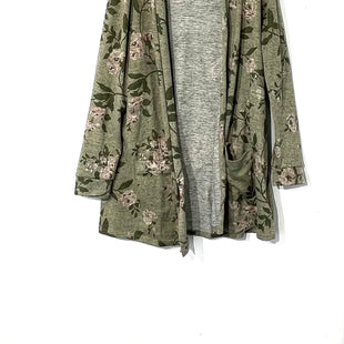 Primary Photo - BRAND: LANE BRYANT STYLE: SWEATER CARDIGAN COLOR: OLIVE SIZE: 2X SKU: 262-26241-44356
