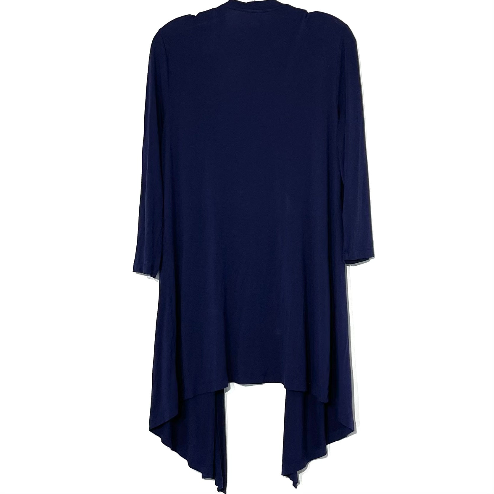 Photo #1 - BRAND: SOMA <BR>STYLE: TOP SHORT SLEEVE COVER<BR>COLOR: NAVY <BR>SIZE: M <BR>SKU: 262-26211-141862<BR>5% SPANDEX