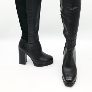 Primary Photo - BRAND: SAM EDELMAN STYLE: OVER THE KNEE BOOTS COLOR: BLACK SIZE: 7.5 SKU: 262-26211-141511AS IS SLIGHT WEAR ON LEFT BOOT