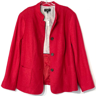 Primary Photo - BRAND: TALBOTS STYLE: JACKET OUTDOOR COLOR: RED SIZE: 1X /18WSKU: 262-26275-75956