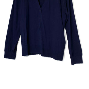 Primary Photo - BRAND: ANN TAYLOR LOFT STYLE: SWEATER CARDIGAN LIGHTWEIGHT COLOR: NAVY SIZE: XL SKU: 262-26211-140926