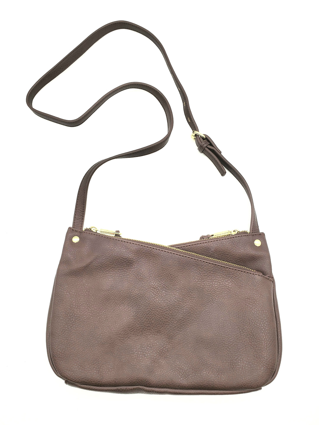 Photo #1 - BRAND: JOES JEANS <BR>STYLE: HANDBAG <BR>COLOR: BROWN <BR>SIZE: SMALL <BR>SKU: 262-26275-67904<BR>AS IS <BR>APPROX 12