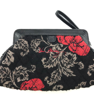 "Primary Photo - BRAND: VERA BRADLEY STYLE: WRISTLET COLOR: BLACK SKU: 262-26241-43495APPROX. 9.5""L X 6""H"