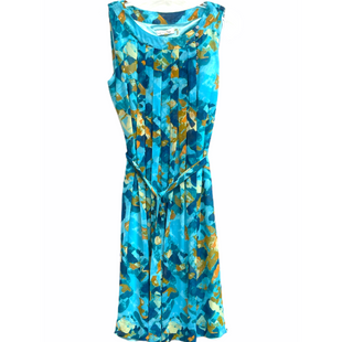 Primary Photo - BRAND: CALVIN KLEIN STYLE: DRESS SHORT SLEEVELESS COLOR: TURQUOISE SIZE: M /8SKU: 262-26241-48137