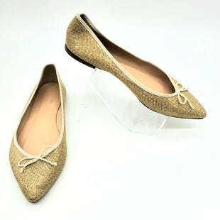 Primary Photo - BRAND: J CREW STYLE: SHOES FLATS COLOR: GOLD SIZE: 7.5 SKU: 262-26275-70486AS IS SLIGHT WEAR ON TOES AND BACK SIDE