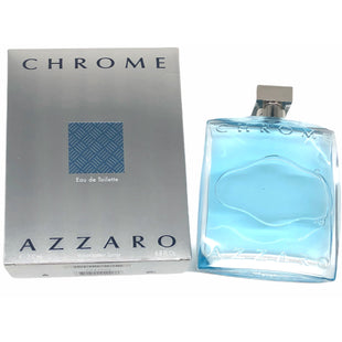 Primary Photo - BRAND:    CHROME AZZAROSTYLE: FRAGRANCE COLOR: LIGHT BLUE OTHER INFO: CHROME AZZARO - SKU: 262-26211-1463086.8 FL OZWE WILL PAD CAREFULLY IF SHIPPED HOWEVER NO GUARANTEES. 95% FULL