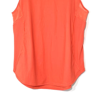Primary Photo - BRAND: LULULEMON STYLE: ATHLETIC TANK TOP COLOR: ORANGE SIZE: M SKU: 262-26275-67074SIZE TAG MISSING AS IS DESIGNER FINAL