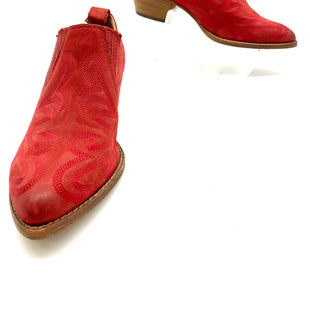 Primary Photo - BRAND: DOLCE VITA STYLE: BOOT ANKLECOLOR: RED SIZE: 7.5 SKU: 262-26275-68105NEW