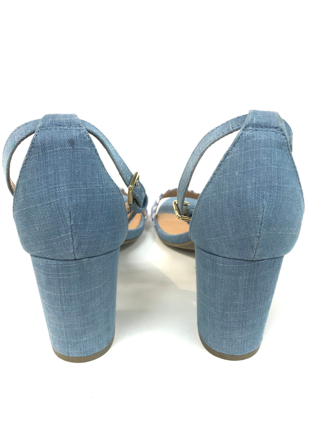 Photo #2 - BRAND: REPORT <BR>STYLE: SANDALS <BR>COLOR: DENIM <BR>SIZE: 8 <BR>SKU: 262-26275-49060