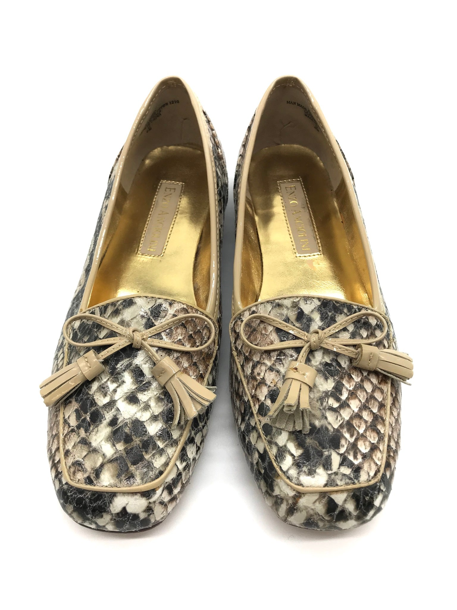 Primary Photo - BRAND: ENZO ANGIOLINI <BR>STYLE: SHOES FLATS <BR>COLOR: SNAKESKIN PRINT <BR>SIZE: 6 <BR>SKU: 262-26275-64519<BR>IN GOOD CONDITION - AS IS
