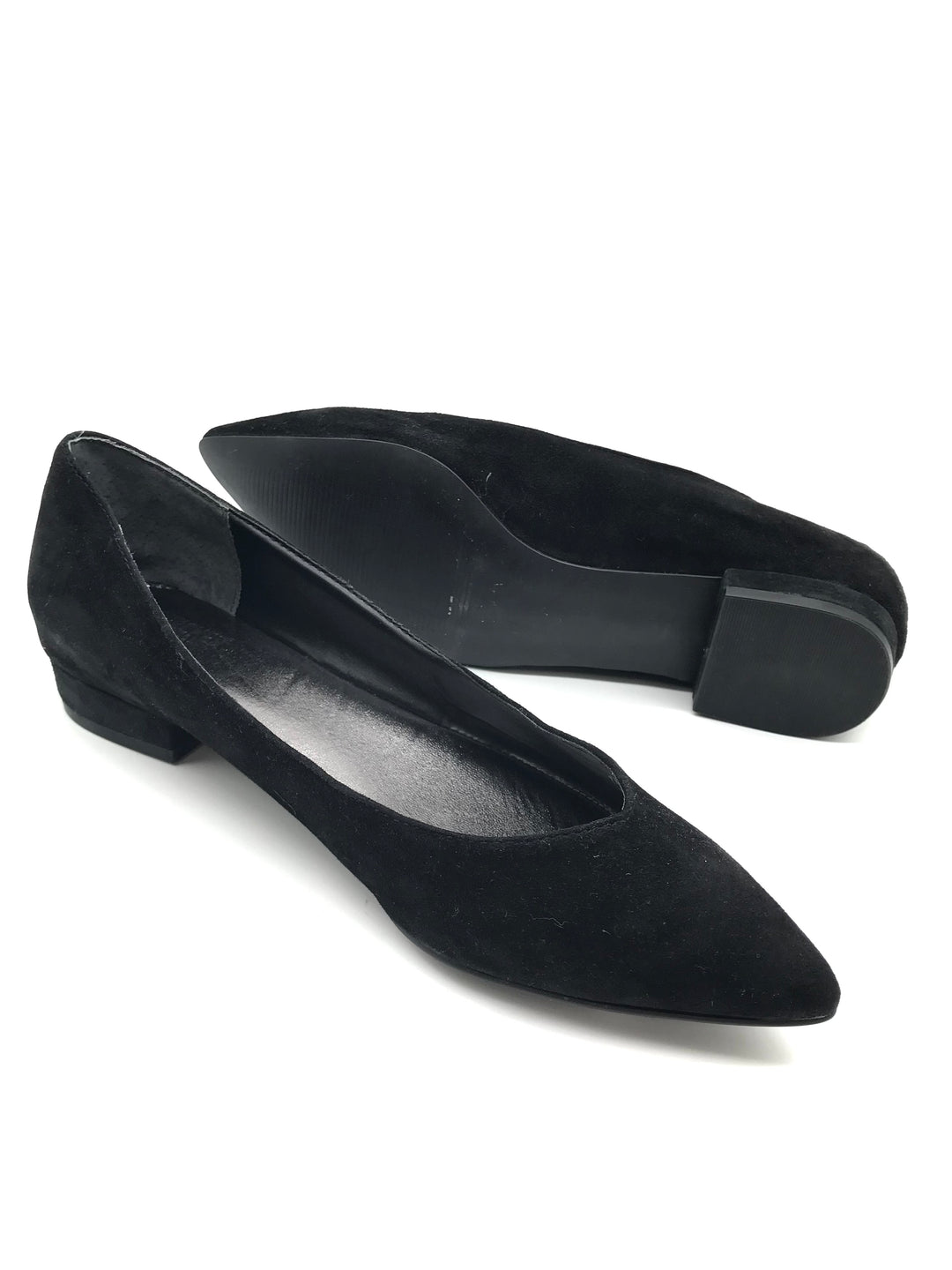 Photo #4 - BRAND:    CLOTHES MENTOR <BR>STYLE: SHOES FLATS <BR>COLOR: BLACK <BR>SIZE: 7.5 <BR>OTHER INFO: BLEECKER BOND - <BR>SKU: 262-26275-64067<BR>AS IS