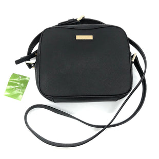 "Primary Photo - BRAND: KATE SPADE STYLE: HANDBAG DESIGNER COLOR: BLACK SIZE: SMALL SKU: 262-26275-78999APPROX. 7.5""L X 6.5""H X 2.75""D"