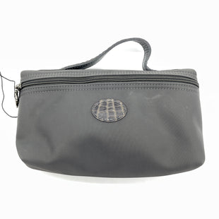 Primary Photo - BRAND: LONGCHAMP STYLE: MAKEUP BAG COLOR: GREY SIZE: SMALL SKU: 262-26211-145977GENTLE WEAR • AS IS