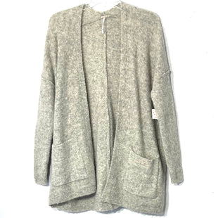 Primary Photo - BRAND: FREE PEOPLE STYLE: SWEATER CARDIGAN LIGHTWEIGHT COLOR: GREY SIZE: XS SKU: 262-262101-249245% WOOL