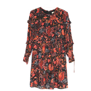 Primary Photo - BRAND: ANN TAYLOR LOFT STYLE: DRESS LONG LONG SLEEVE COLOR: FLORAL SIZE: XS/0PSKU: 262-26275-60932