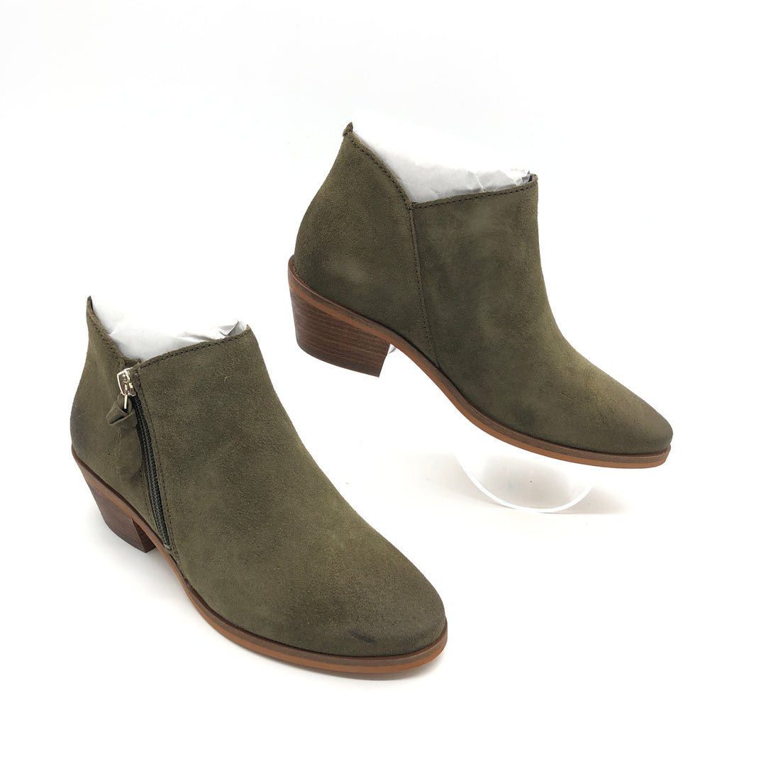 Photo #1 - BRAND: COLE-HAAN <BR>STYLE: BOOTS ANKLE <BR>COLOR: OLIVE <BR>SIZE: 5.5 <BR>SKU: 262-26275-74280<BR>NEW CONDITION