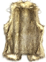 Photo #1 - BRAND: FRANCESCA'S <BR>STYLE: VEST <BR>COLOR: ANIMAL PRINT <BR>SIZE: M <BR>SKU: 262-26211-139534