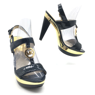 Primary Photo - BRAND: MICHAEL KORS STYLE: SANDALS LOW COLOR: NAVY SIZE: 6 SKU: 262-262101-2739GENTLE WEAR - AS IS