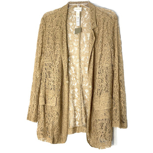 Primary Photo - BRAND: CHICOS STYLE: TOP LONG SLEEVE BLAZERCOLOR: BEIGE SIZE: XL /3SKU: 262-26241-47548