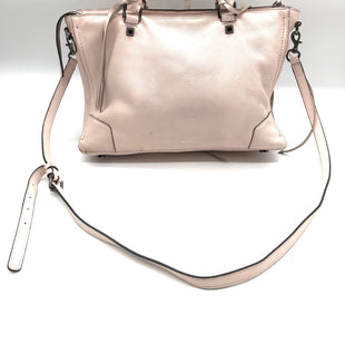 "Primary Photo - BRAND: REBECCA MINKOFF STYLE: HANDBAG DESIGNER COLOR: LIGHT PINK SIZE: MEDIUM OTHER INFO: AS IS SKU: 262-26241-40477PRICE REFLECTS SOME WEAR AS SHOWN. APPROX. 12""L X 9""H X 6""D."
